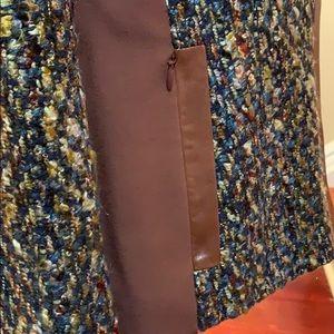 Lafayette 148 New York Jackets & Coats - Lafayette 148 😍Multi -Color Tweed Zip Jacket Sz 8